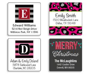 Square Address Labels