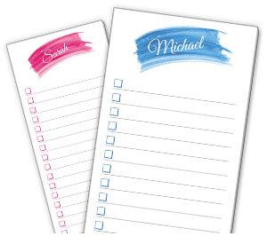 Watercolor List Pads